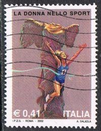 Italy SG2796 2002 Women in Sport 41c good/fine used